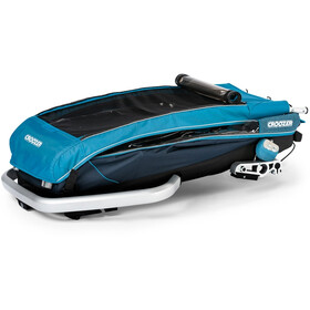 Croozer Kid Plus For 1 Trailer para niños, ocean blue